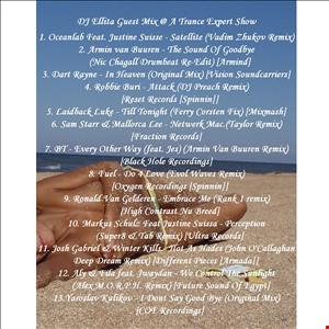 DJ Ellita's Guest Mix @A Trance Expert Show
