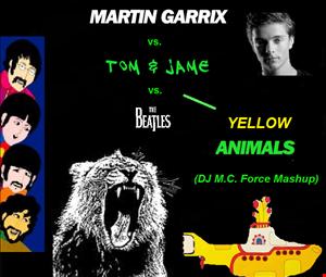 Martin Garrix vs. Tom & Jame vs. The Beatles - Yellow Animals (DJ M.C. Force Mashup)