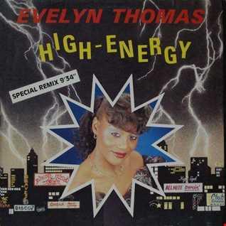 Evelyn Thomas - High Energy - Masquerade - Megamix