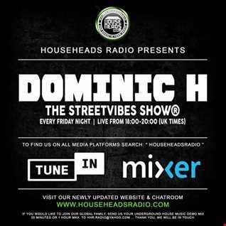 Dj Dominic H Streetvibes Show HHR 20 3 2020