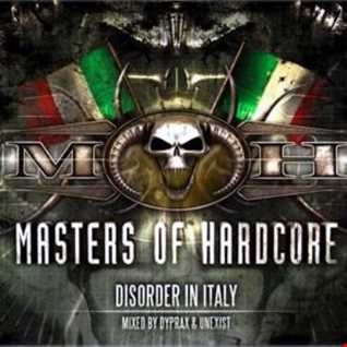 Masters of Hardcore Disorder in Italy CD 2 Mixed by Unexist