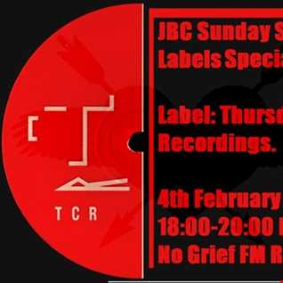 Jase Crawley - JBC Sunday Sessions Thursday Club Recordings Breaks Special on No Grief FM - 04/02/18