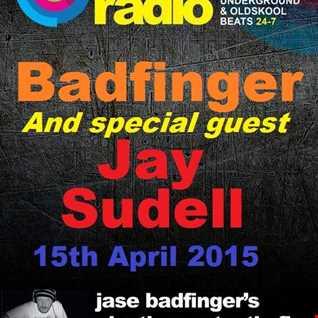 Jase Badfinger Crawley & Jay Sudell Live on Rejuve Radio 15 4 15
