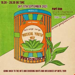 #strangecargo @ Musical Youth 11/09/21 - #norules, #eclectic, #influences for www.risingedge.uk