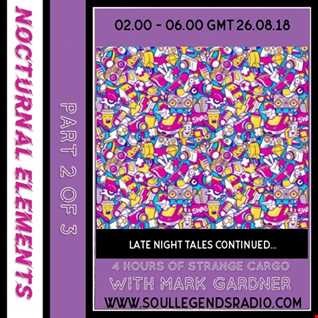 An evening of anything goes eclectic festival sounds with Mark Gardner via SLR - MS Charity Appeal - Night two  - 4hr set - 25.08.18