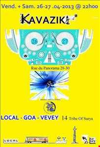 Set 2 hours @ LOCAL VEVEY - Tribe Of Surya Party - Day 2 - 27.04.13