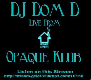 Set Recorded Live @ Opaque Klub 2/10/16