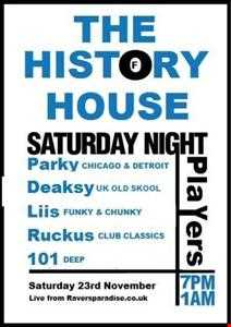 parky's history of house acid and techno