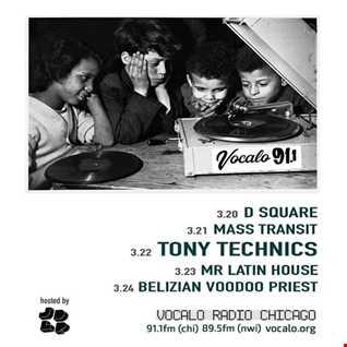 Mr. Tony Technics   Vocalo Radio House Set