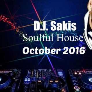 D.J.Sakis Soulful House Oct`16
