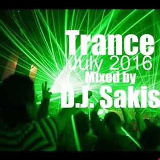 D.J. Sakis Trance July 2016