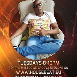FLYERS MELTDOWN GROOVY  SESSIONS LIVE ON HOUSE BEAT RADIO  10.01.2017