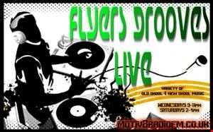 DJ FLYER MOTIV8 RADIO PROMO MIXED CD