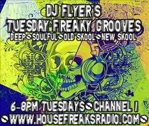 DJ FLYER LIVE ON HOUSEFREAKSRADIO NEW YEARS EVE 31.12.2013