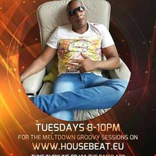 DJ FLYER MELTDOWN GROOVY SESSION LIVE ON HOUSE BEAT RADIO 22.8.2017