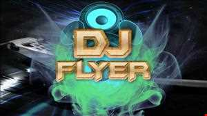 DJ FLYER ON A POP TIP