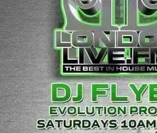 DJ FLYER EVOLUTION PROJECT ON LONDON LIVE 11.06.2016