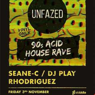 DJ SEANE C - UNFAZED 90S ACID HOUSE RAVE 3.11