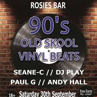 seanec old skool promo mix for Sound Injected 90s vinyl beats 30.9.17