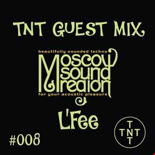 Moscow Sound Region podcast #124. Beautifully sounded techno!