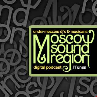 Moscow Sound Region podcast #105. Beautifully sounded techno.