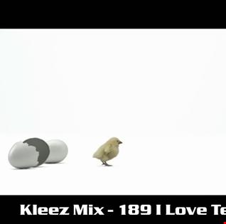 Kleez Mix   189 I Love Techno Part 1
