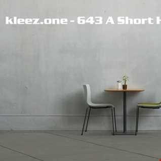 kleez.one   643 A Short Hiphouse Mix