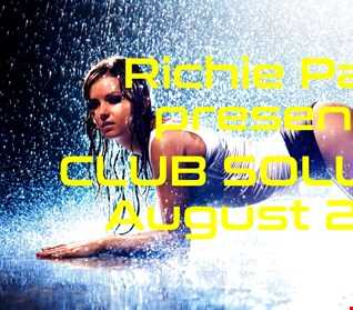 Richie Pask presents Club Solution August 2016