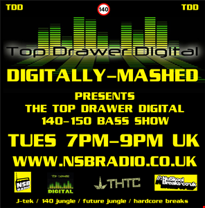 Digitally Mashed Pres The Top Drawer Digital Show live 16 04 13