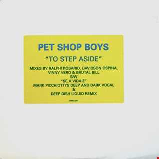 Pet Shop Boys - To Step Aside (T80sRMX Club Dance Mix)