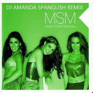 MSM I'M THE ONLY ONE [DJ AMANDA SPANGLISH REMIX] [reposted]