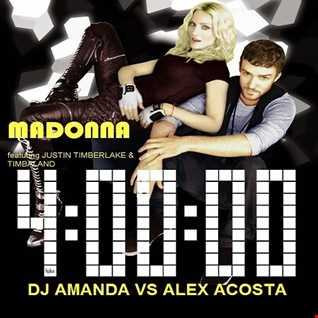 MADONNA feat. JUSTIN TIMBERLAKE - 4 MINUTES [DJ AMANDA VS ALEX ACOSTA]