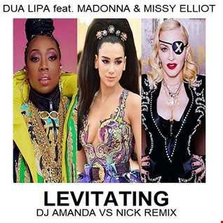 DUA LIPA feat. MADONNA & MISSY ELLIOT   LEVITATING (DJ AMANDA VS NICK REMIX)