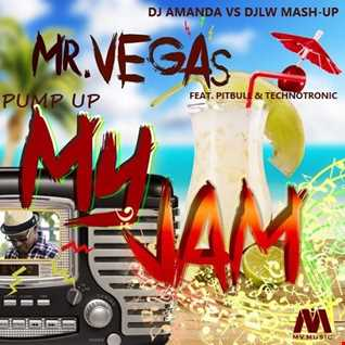MR. VEGAS feat. PITBULL & TECHNOTRONIC   PUMP UP MY JAM [ DJ AMANDA VS DJLW MASH UP]