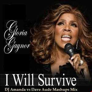 GLORIA GAYNOR   I WILL SURVIVE (DJ AMANDA VS DAVE AUDE MASHUPS MIX2)