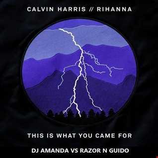 CALVIN HARRIS feat. RIHANNA - THIS IS WHAT YOU CAME FOR [DJ AMANDA VS RAZOR N GUIDO]