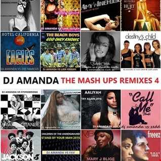 DJ AMANDA   THE MASH UPS REMIXES 4