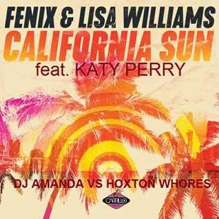 FENIX feat. LISA WILLIAMS & KATY PERRY &    CALIFORNIA SUN GURLS [DJ AMANDA VS HOXTON WHORES MASHUPS MIX]