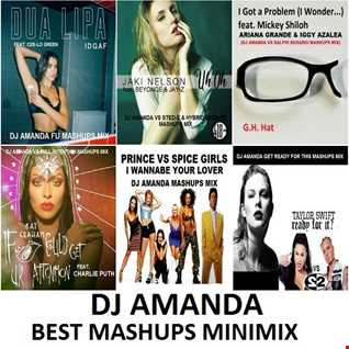 DJ AMANDA BEST MASHUPS MINIMIX