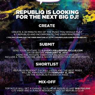 Republiq Club: VIBERXREPUBLIQNIGHTVENTURE entry