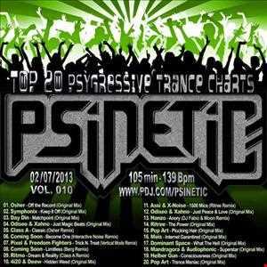 PSYGRESSIVE TRANCE TOP 20 (June) Mix-010 (2013.07.02)