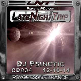 Psinetic - Psychedelic Late Night Trip 034 (2014.10.12)