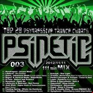 DJ Psinetic - PSYGRESSIVE TRANCE TOP-20 Mix 003 (2012-11-11)