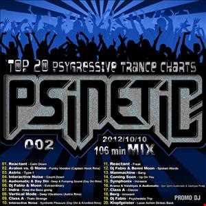DJ Psinetic - PSYGRESSIVE TRANCE TOP-20 Mix 002 (2012-10-10)