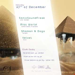 DJ DAGO: TEASER mix: Twilight event 27-12-2014: Club Cozy, Herenstraat 43, Leiden