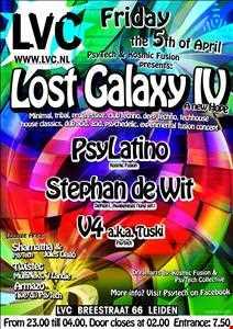 TUSKI: PsyTech's Lost Galaxy IV: Psychedelic & Acid@LVC 5 April 2013