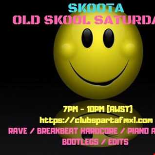 SKOOTA   Old Skool Saturdays   Live on CLUB SPARTA 24.11.2018