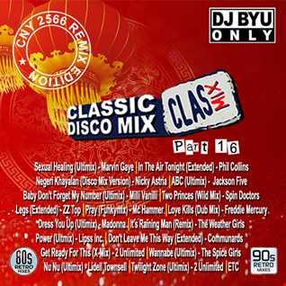 """CLASMIX Part 16 """"Retro Remixes"""""""