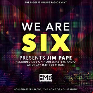 WE ARE SIX MIX - LIVE ON HOUSEMASTERS RADIO 15.02.20