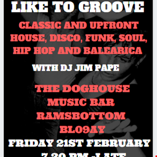 FOR THOSE WHO LIKE TO GROOVE 21.02.20 PART ONE